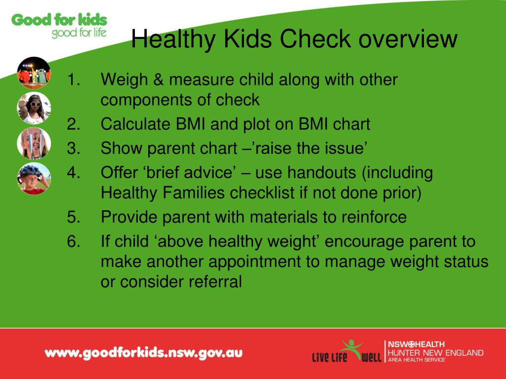 Healthy Kids Check overview