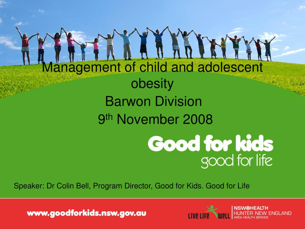 management of child and adolescent obesity l.
