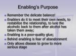 enabling s purpose