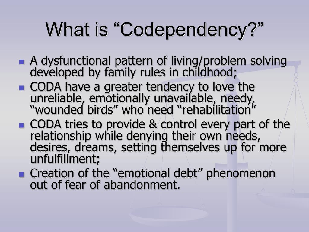 """What is """"Codependency?"""""""
