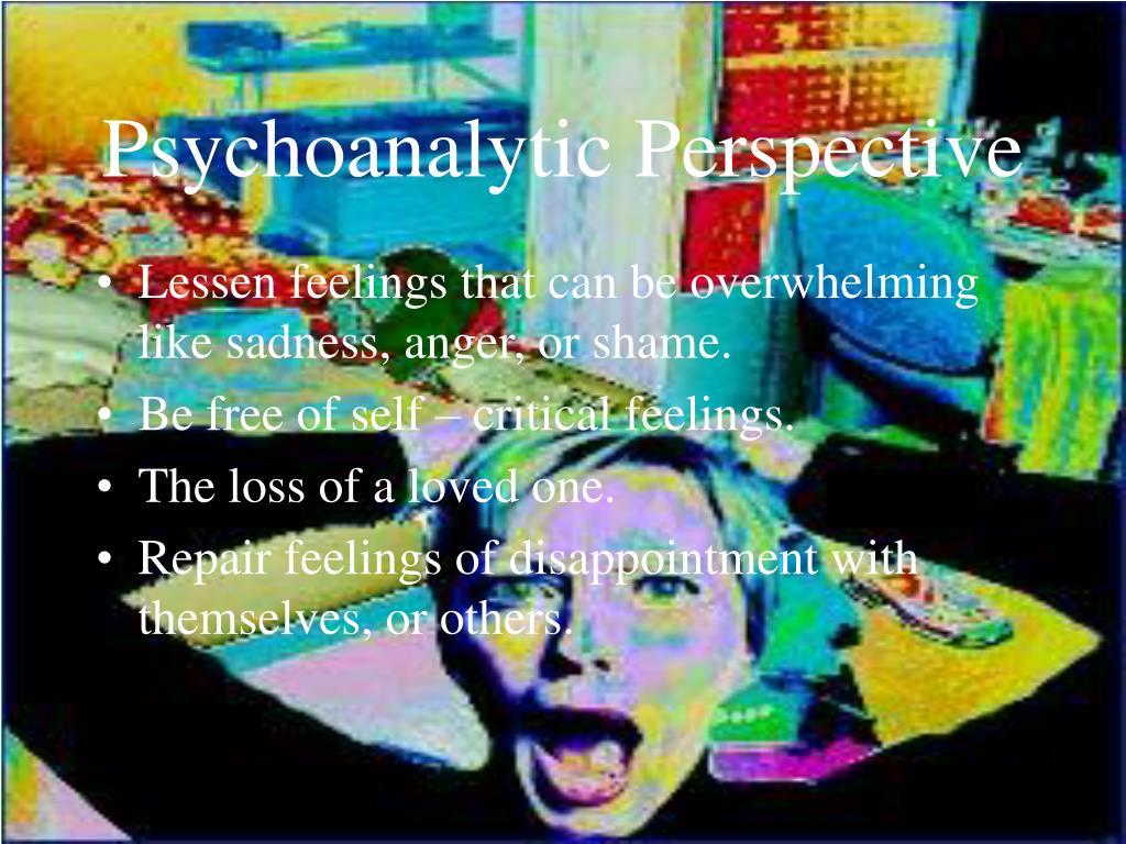 Psychoanalytic Perspective