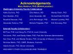 acknowledgements mary waldron phd niaaa postdoc