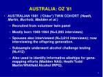 australia oz 81