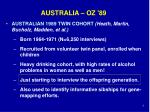australia oz 89