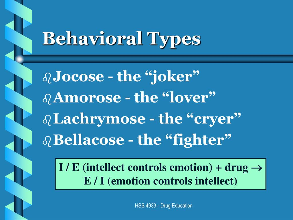 Behavioral Types