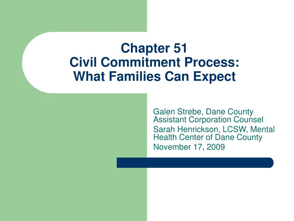 chapter 51 civil commitment process what families can expect l.