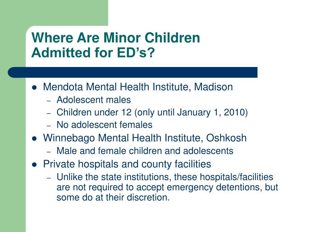 Where Are Minor Children