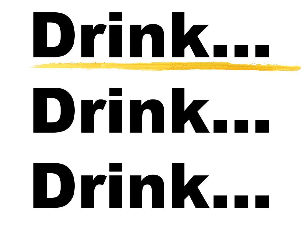 drink drink drink l.