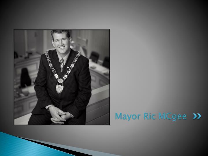 Mayor ric mcgee