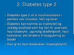 2 diabetes type 2