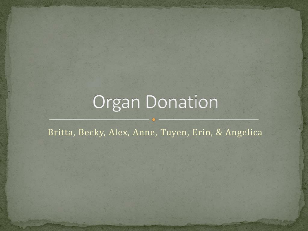 organ donation l.