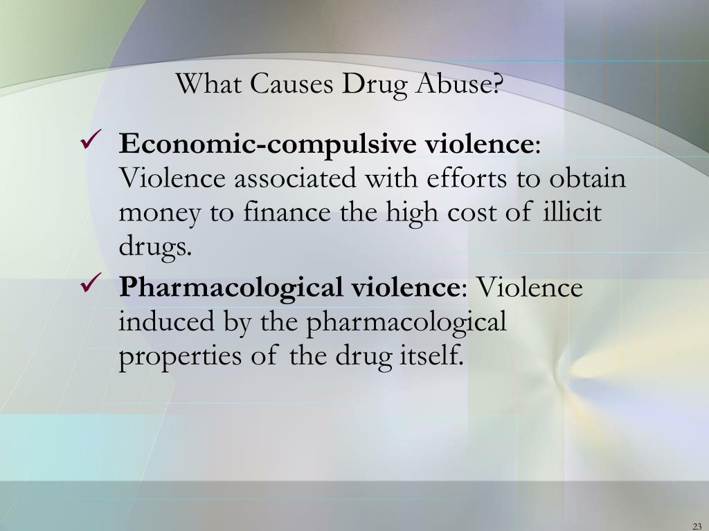 what causes violence Section i: gun violence in the united states of gun violence is especially pronounced die of a gunshot wound than from all the natural causes of death.