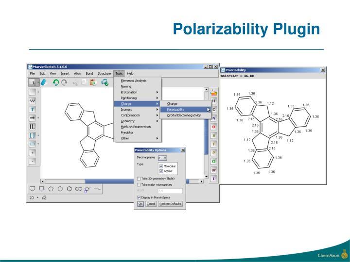 Polarizability Plugin