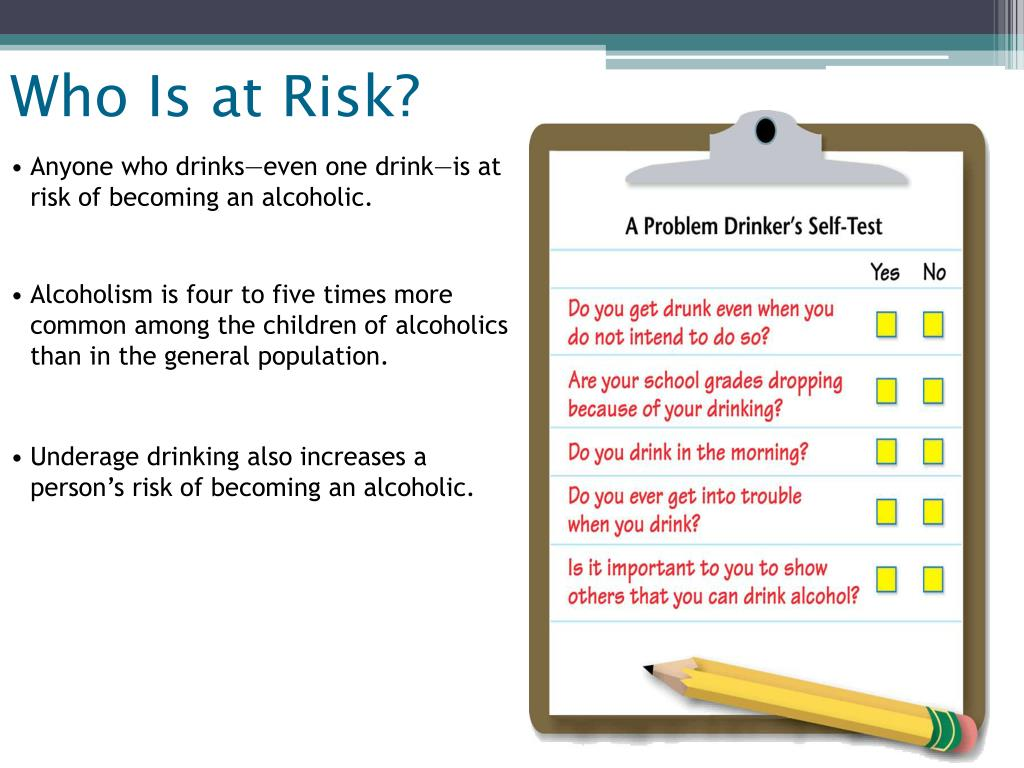 Who Is at Risk?