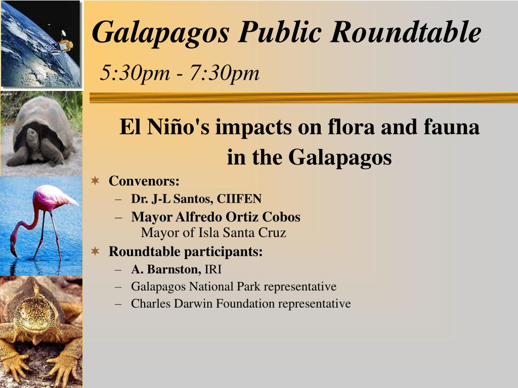 Galapagos Public Roundtable