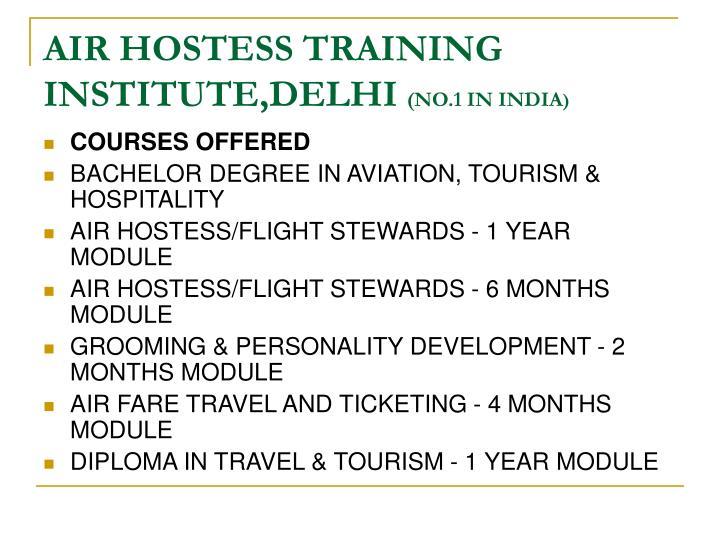 AIR HOSTESS TRAINING INSTITUTE,DELHI
