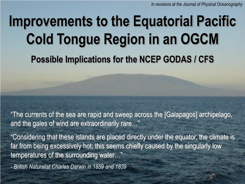 In revisions at the Journal of Physical Oceanography