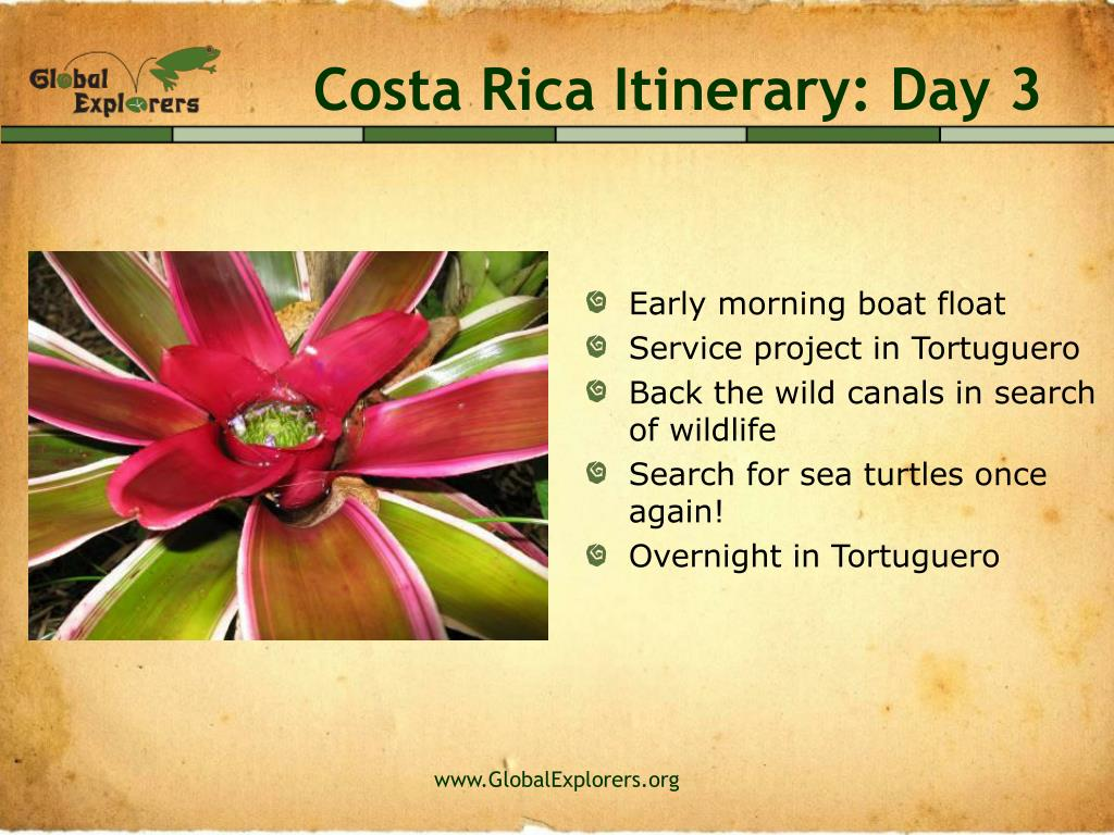Costa Rica Itinerary: Day 3