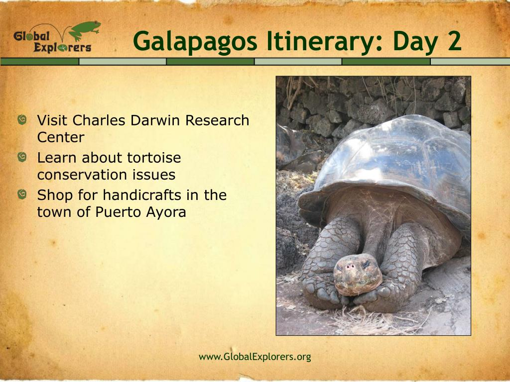 Galapagos Itinerary: Day 2