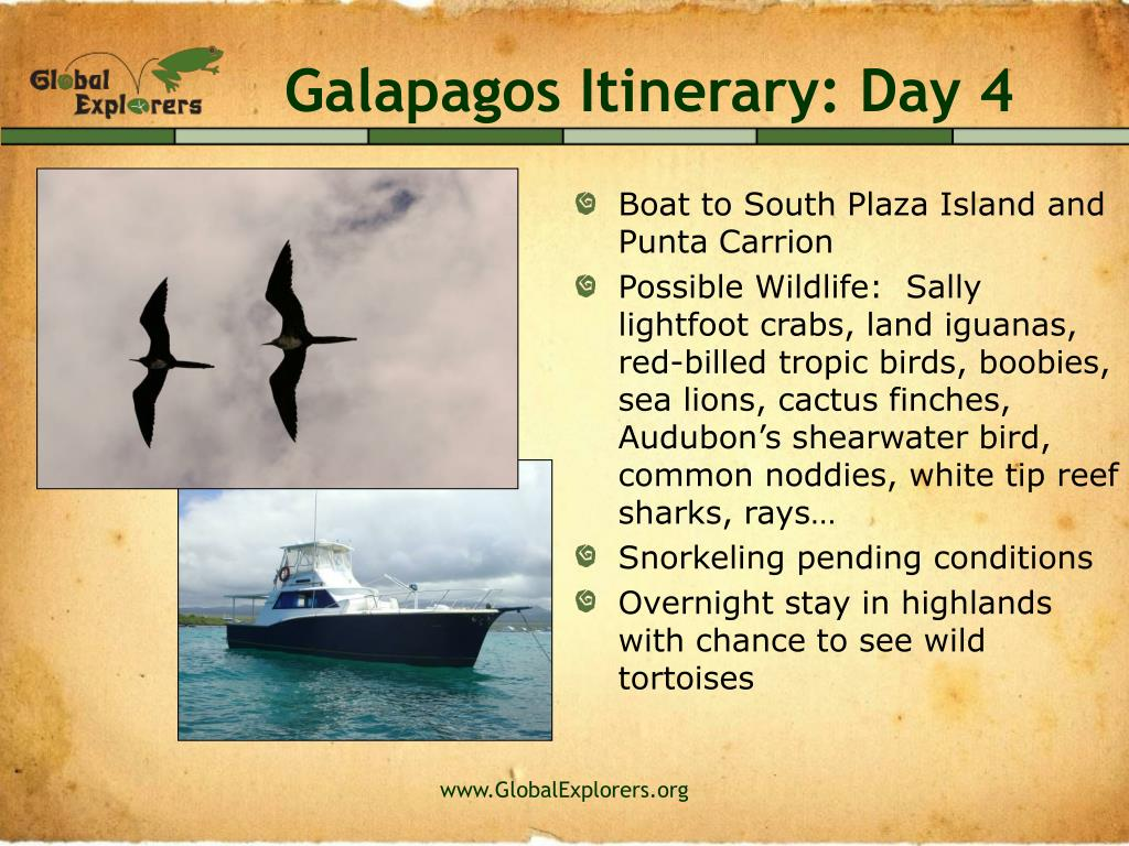 Galapagos Itinerary: Day 4