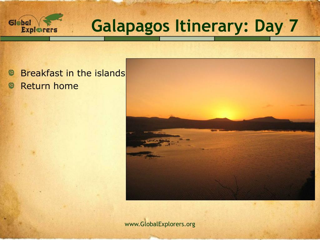 Galapagos Itinerary: Day 7