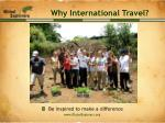 why international travel7