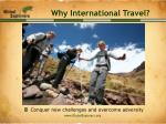 why international travel8