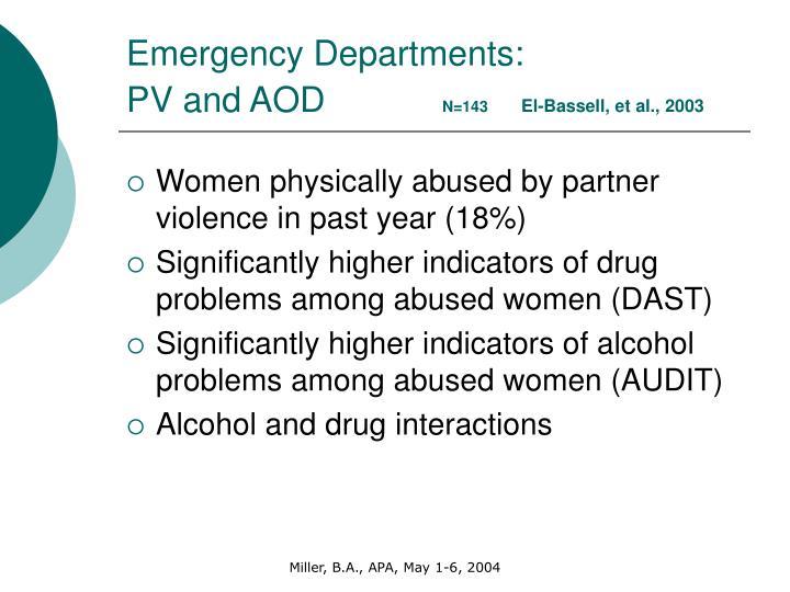 Emergency Departments: