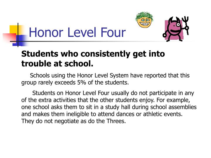 Honor Level Four