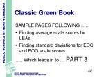 classic green book