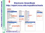 electronic greenbook http report ncsu edu ncpublicschools5