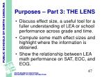 purposes part 3 the lens