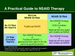 a practical guide to nsaid therapy