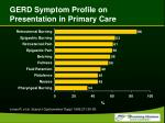 gerd symptom profile on presentation in primary care