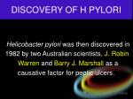 discovery of h pylori