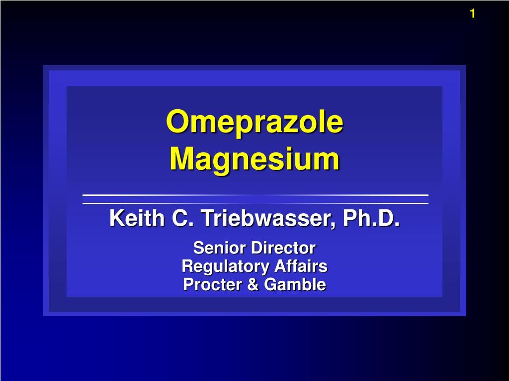 omeprazole magnesium l.