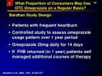 what proportion of consumers may use otc omeprazole on a regular basis62