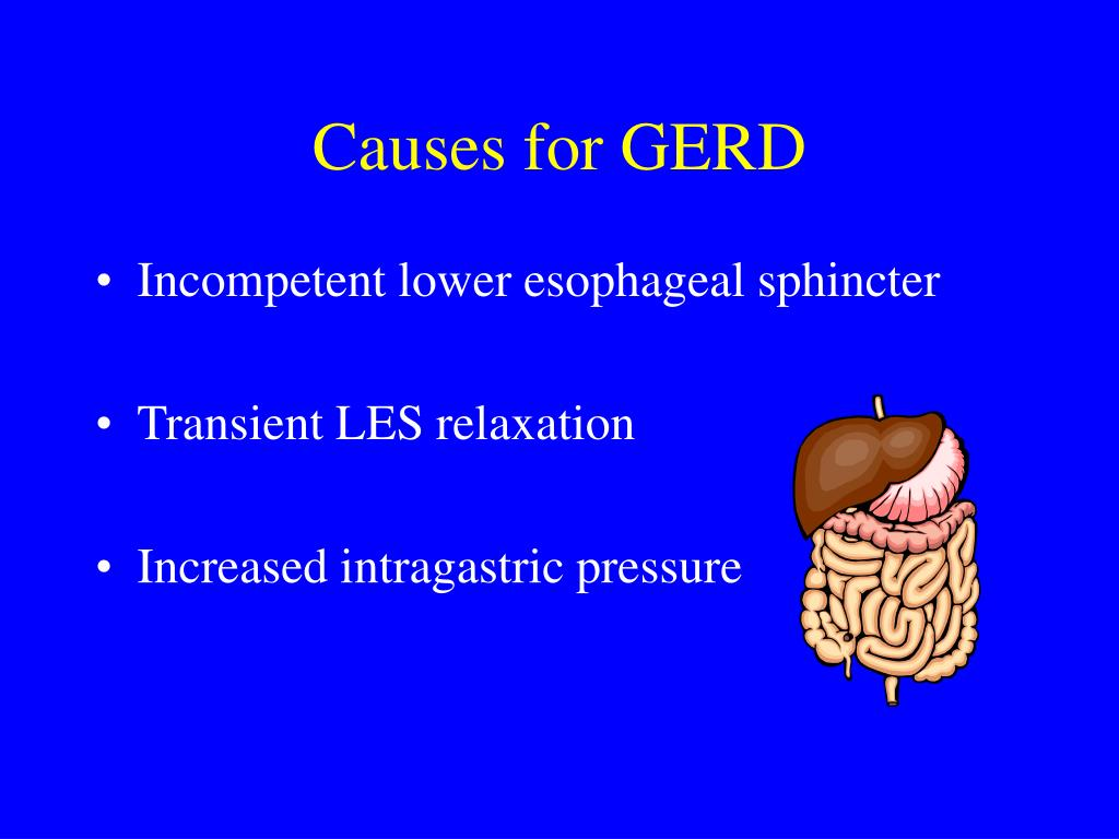 Causes for GERD