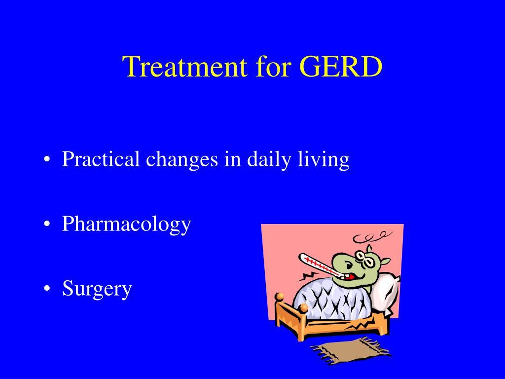 Treatment for GERD
