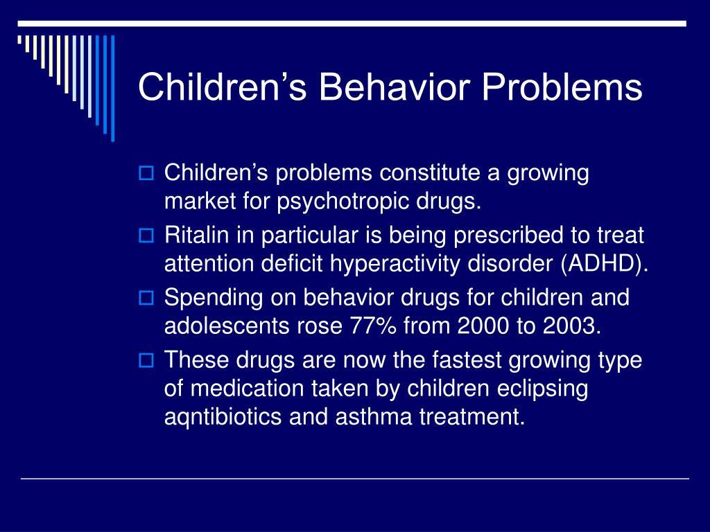 Children's Behavior Problems