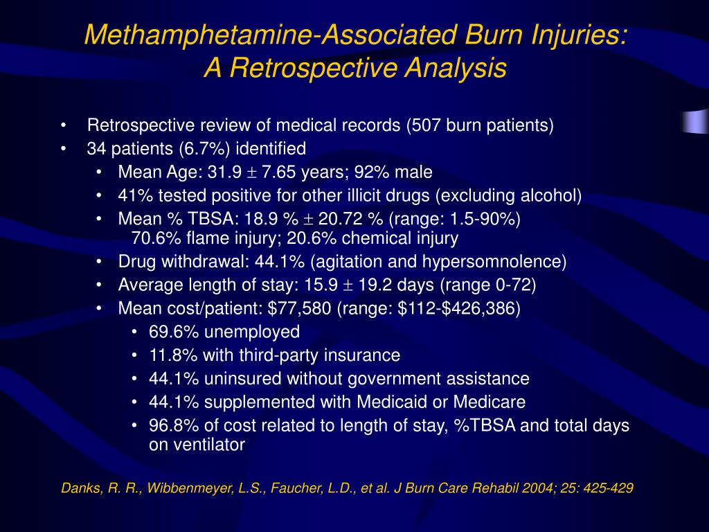 PPT - Methamphetamine: Who Really Gets Burned PowerPoint
