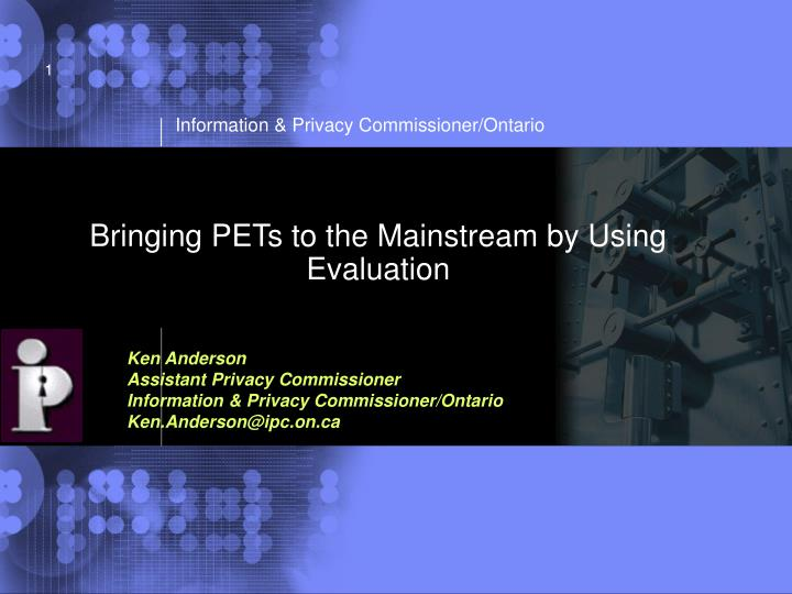 Bringing pets to the mainstream by using evaluation