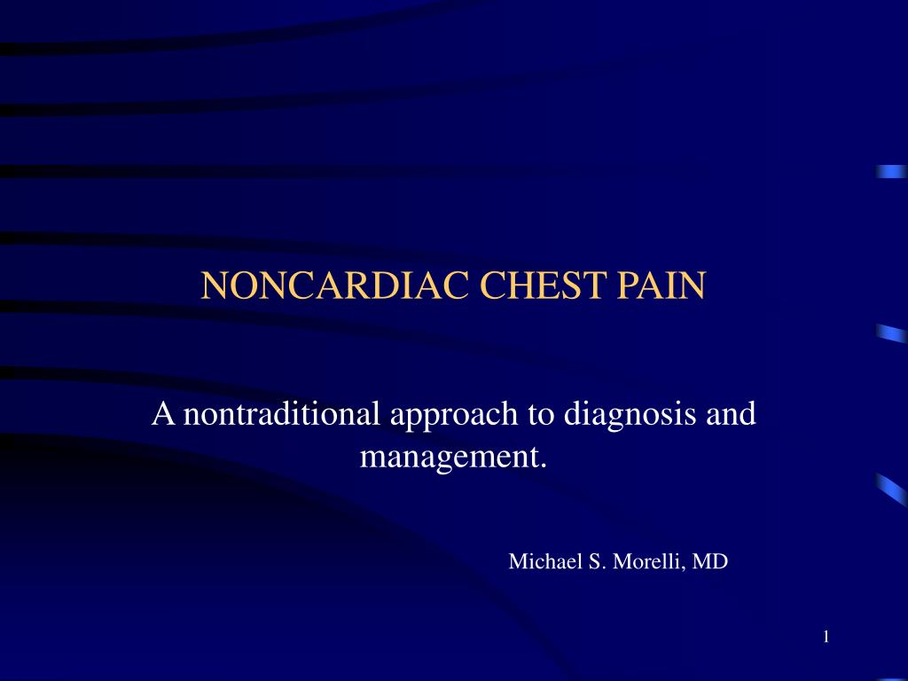 noncardiac chest pain l.