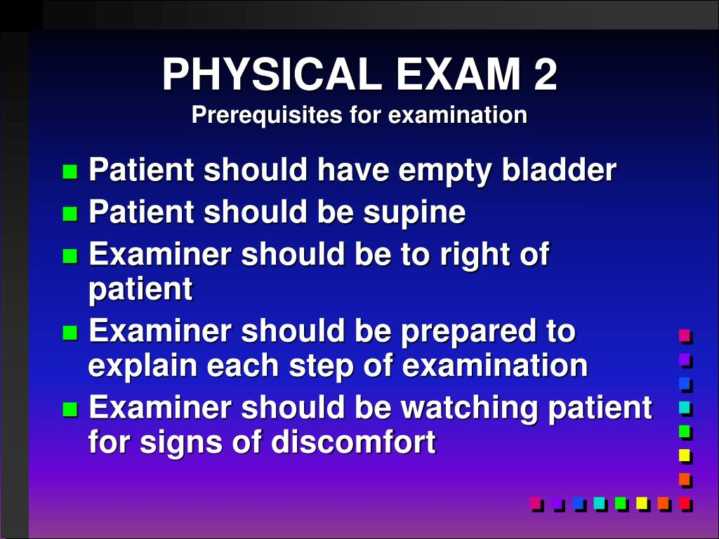 PHYSICAL EXAM 2