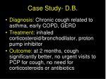 case study d b55