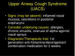 upper airway cough syndrome uacs31
