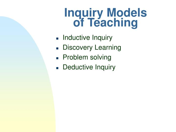 Inquiry Models