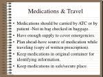 medications travel