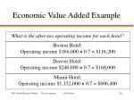 economic value added example3