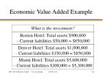 economic value added example4
